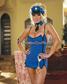 Dream Girl Disfraz de Policía (Diamond 4231)