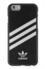 Carcasa Moulded Negra y Plata Apple iPhone 6 Adidas