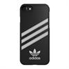 Adidas Carcasa Moulded Negra y Blanca para Apple iPhone 7