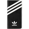 Funda Booklet Negra y Blanca Samsung Galaxy S7 Edge Adidas