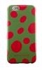 Agatha Ruiz De La Prada Funda TPU Verde Puntos Rojos Apple iPhone 6 Agatha Ruiz de la Prada