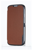 Funda cradle marron Galaxy S4 Samsung Anymode (tapa)