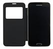 Funda view flip cover Samsung Galaxy S5 negra Anymode (sustituye tapa trasera)