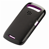 Blackberry Funda premium skin negra purpura 9360 BlackBerry