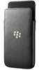 Funda piel negra pocket BB10 Blackberry