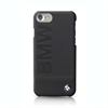 Bmw Carcasa Piel Negra Logo BMW Apple iPhone 7/6/6S BMW