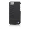 Bmw Carcasa Piel Negra Logo BMW Apple iPhone 7 Plus BMW