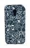 Cállate La Boca Funda Slim Collage Azul Samsung I9190 Galaxy S4 Mini Cállate la Boca