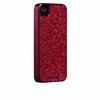 Funda trasera glam iPhone 4 roja brillantes Case-Mate