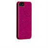 Funda trasera glam iPhone 5 rosa brillantes Case-Mate