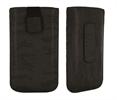 Classic Y Elegance Funda Pocket XL Negro Satinado con Trabilla y cierre Pull-up Classic & Elegance