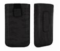 Classic Y Elegance Funda Pocket L Negro Satinado con Trabilla y cierre Pull-up Classic & Elegance
