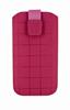 Classic Y Elegance Funda Pocket L Nabuk Rosa Cuadros cierre Pull-up Classic & Elegance