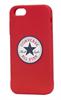 Funda TPU Chuck Taylor Logo Roja iPhone 5/5S Converse