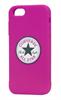 Funda TPU Chuck Taylor Logo Rosa Apple iPhone 6 Converse