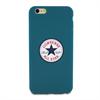 Funda TPU Chuck Taylor Logo Azul Apple iPhone 6 Plus Converse
