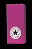 Funda Flip Rosa iPhone 5/5S Converse