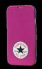 Funda Flip Rosa Samsung Galaxy S5 Converse
