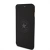 Funda Folio Premium Negra Apple iPhone 6 Plus Converse