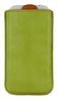 Funda Pocket XL Verde/Naranja (13,5x8cm) Tarjetero Echo