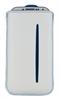 Funda Pocket XL Blanca/Azul(13,5x8cm) Tarjetero Echo