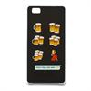 Funda Tpu Es lo que pasa Huawei P8 Lite Emoji