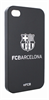 Fc Barcelona Carcasa Negra Escudo Plata Apple iPhone 4/4S Barça