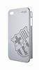 Fc Barcelona Carcasa Aluminio Plata Apple iPhone 4/4S Barça