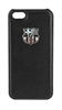 Fc Barcelona Carcasa Negra Escudo Plata Apple iPhone 5/5S FCB