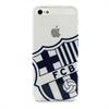 Fc Barcelona Funda TPU Blau Apple iPhone 5/5S FCB