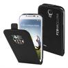 Fc Barcelona Funda Slim Negra Logo Relieve Plata Samsung Galaxy S4 I9500 FCB