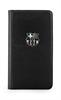 Fc Barcelona Funda Folio Negra Logo Relieve Plata Samsung Galaxy S5 FCB