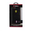 Funda TPU Escudería Efecto Carbono Negra Apple iPhone 6/6S Ferrari