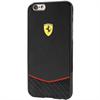 Carcasa Scuderia Fibra Carbono Negra Apple iPhone 6/6S Ferrari