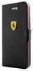Funda Booklet Negra iPhone Mini Ferrari