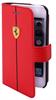 Funda Folio Efecto Carbono Roja Apple iPhone 6 Ferrari