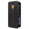 Funda Booklet Racing Negra Apple iPhone 6/6S Ferrari
