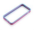 Funda bumper rosa/azul iPhone 5 Gear4