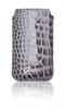 Funda Pocket Crocodile Gris Apple iPhone 4/4S Guess