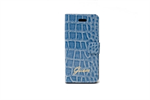 Funda Ultra Slim Folio Croco Azul Samsung Galaxy S4 I9500 Guess