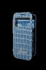 Funda Booklet ventana Croco Azul Samsung Galaxy S4 I9500 Guess