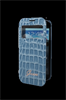 Funda Booklet ventana Croco Azul Samsung Galaxy S4 Mini Guess