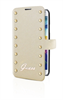 Funda Booklet Colección Studded Beige Samsung Galaxy S5 Guess