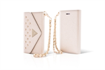 Funda Wallet Coleccion Studded Beige Apple iPhone 5/5S Guess