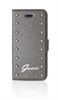 """Funda Booklet Studded Plata Apple iPhone 6 5,5"""" Guess"""