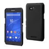 Made For Xperia Carcasa Negra Tacto Goma Sony Xperia E4G Made for Xperia