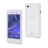 Made For Xperia Funda Myframe bi-material blanca/transparente Sony Xperia E3 Made for Xperia