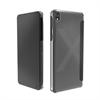 Made For Xperia Funda folio negra con ranura para tarjeta y carcasa transparente Sony Xperia X Compact Made for Xper