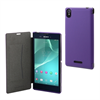 Made For Xperia Funda Ultra Slim Folio Lila Sony Xperia T3 Made for Xperia
