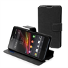Made For Xperia Funda Slim Folio Funcion Soporte Negra Sony Xperia Z